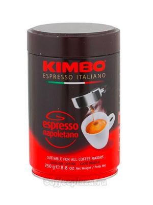 Кофе Kimbo молотый Espresso Napoletano ж/б