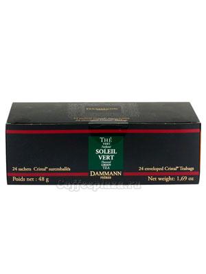 Чай Dammann Зеленый китайский апельсин 24 пак по 2 гр