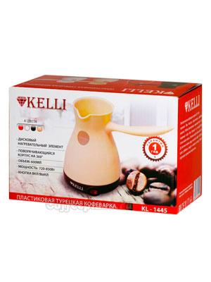 Турка электрическая Kelli KL-1445 600 мл (черная)