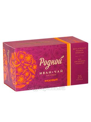 Родной чай Иван-Чай Медовый 25 шт