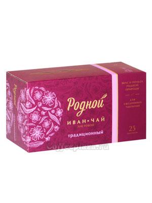 Родной чай Иван-Чай Традиционный 25 шт