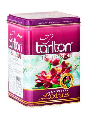 Чай Tarlton зеленый Lotus 250 гр ж.б.