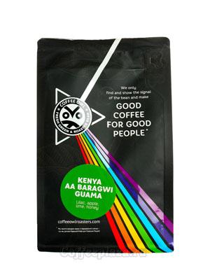 Кофе Owl в зернах Kenya AA Baragwi Guama 250 гр