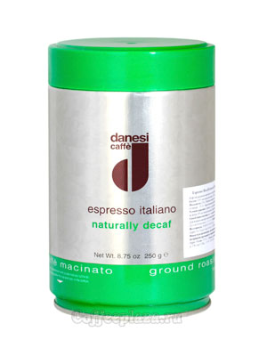 Кофе Danesi молотый Decaf 250 гр