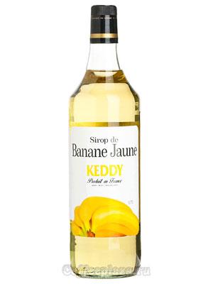 Сироп Keddy Желтый банан 1 л