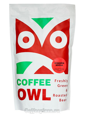 Кофе Owl в зернах Ethiopia Adola 1 кг