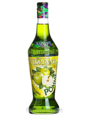 Сироп Vedrenne Зеленое Яблоко 0,7л
