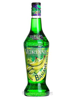 Сироп Vedrenne Зеленый банан 0,7л