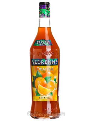 Сироп Vedrenne Апельсин 1л