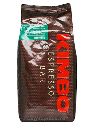 Кофе Kimbo в зернах Premium