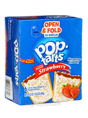 Бисквит Pop-Tarts Strawberry Печенье 624 гр