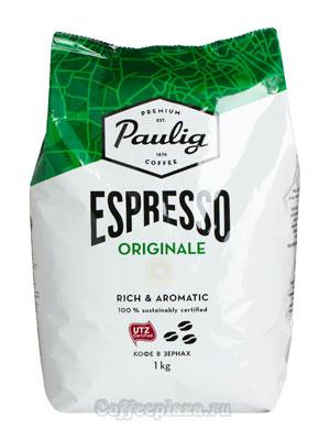 Кофе Paulig в зёрнах Espresso Originale 1 кг