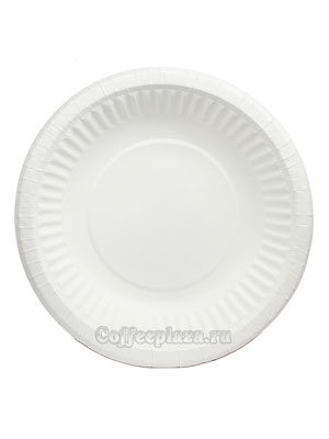 Бумажные тарелки 190 мм Круглая миска 50 шт