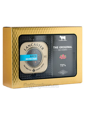 Подарочный набор Lancaster черный чай и Bucheron The Original горький с клюквой