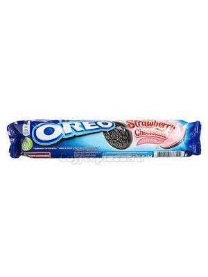 Бисквитное печенье Oreo Strawberry Cheesecake 154 гр