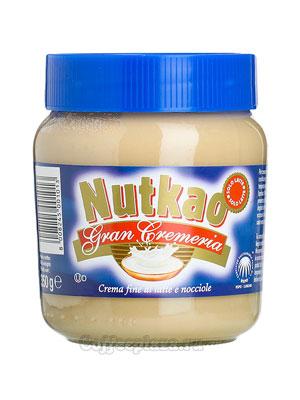 Паста Nutkao Hazelnut молочно-ореховая 350 гр