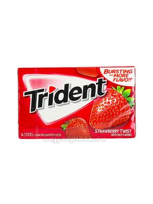 Жевательная резинка Trident Strawberry