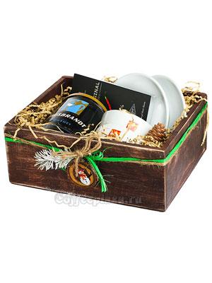 Подарочный набор в деревянном ящичке Hausbrabdt
