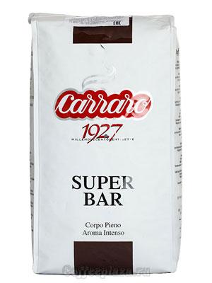 Кофе Carraro в зернах Super Bar 1 кг
