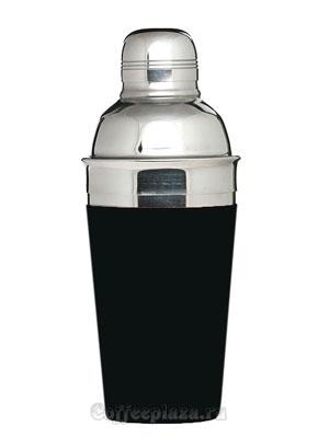 Шейкер Проотель 500 мл черный, метал.