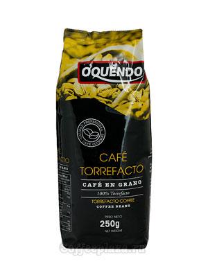 Кофе в зернах Oquendo Cafe Torrefacto 250г