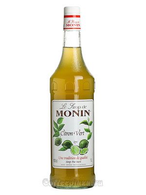 Сироп Monin Зеленый Лимон 1 л