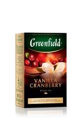 Чай Greenfield Vanilla Cranberry 100 гр