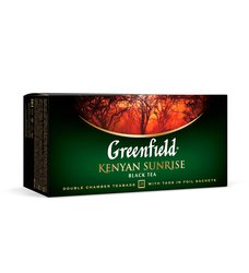 Чай Greenfield Kenyan Sunrise Пакетики