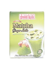 Чай Gold Kili Имбирный напиток латте Матча (10 саше по 25 гр)