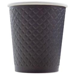 Стакан Двухслойный. Waffle Black 300 мл (25 шт)