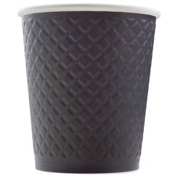 Стакан Двухслойный. Waffle Black 250 мл (25 шт)