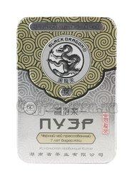 Чай Черный Дракон Прессованный черный Пу Эр 60 гр ж/б