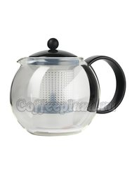 Чайник заварочный с прессом Bodum Assam черный 1л (1844-01)