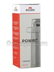 Термос серебристый Walmer Power 350 мл (W24014682)