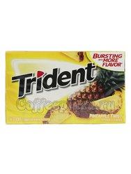 Жевательная резинка Trident Pineapple