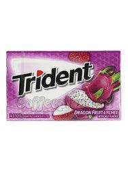 Жевательная резинка Trident Dragon Fruit Lychee