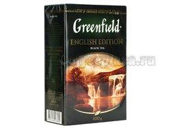 Чай Greenfield English Edition (Инглиш Эдишн) черный листовой 100 г