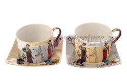 Чайный набор Lefard  на 2 персоны 4 предм. 180 мл (86-1635)