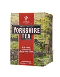 Чай Taylors Йоркшир черный в пакетиках 20 шт