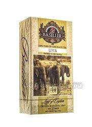 Чай Basilur Лист Цейлона Ува (25 пакетиков по 2 гр)