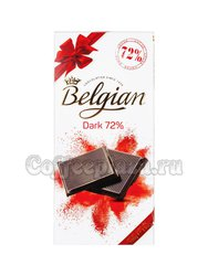 Шоколад Belgian горький  72% 100 г (Dark)