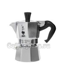 Гейзерная кофеварка Bialetti Moka Express Oceana 1 порция (1161/OC)
