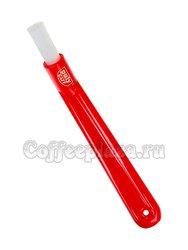 PulyCaff Brush Щетка для чистки прокладок (короткая, красная)