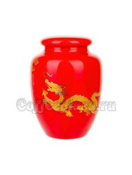 Чайница Красный дракон (фарфор) 220 мл (F-118/13)