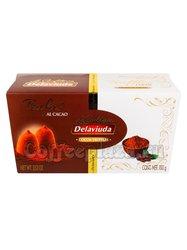 Delaviuda Шоколадные конфеты трюфели с какао 100 г