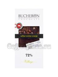 Шоколад Bucheron горький 100 гр ( кофе, апельсин)