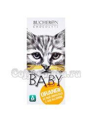 Шоколад Bucheron Baby Белый с апельсином 50 гр