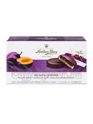 Anthon Berg Шоколадные конфеты с марципаном слива в мадейре 220 г