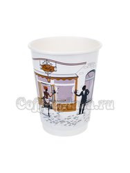 Стакан бумажный Манинг Двухслойный Кафе 350 мл (25 шт)