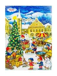 Шоколад Carla Рождественский календарь молочный 50 г